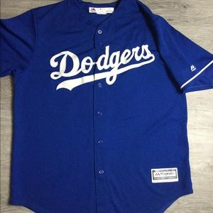 Majestic Cool Base LA Dodger Clayton Kershaw Large